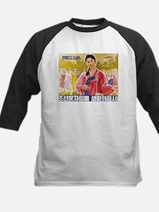 Korean Ladies Wearing Hanbok Baseball Jersey
