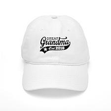 Great Grandma Est. 2016 Baseball Baseball Cap