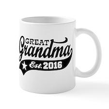 Great Grandma Est. 2016 Small Mug