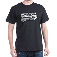 Great Grandpa Since 2016 T-Shirt