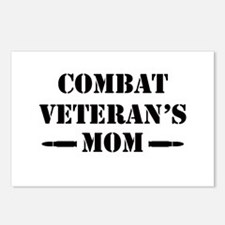 Combat Veteran's Mom Postcards (Package of 8)