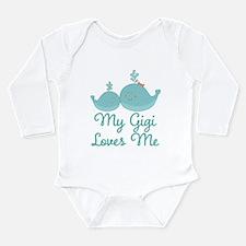 My Gigi Loves Me Long Sleeve Infant Bodysuit