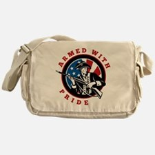 Armed Pride Messenger Bag