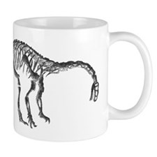 Plateosaurus Skeleton Mug
