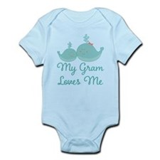 My Gram Loves Me Infant Bodysuit