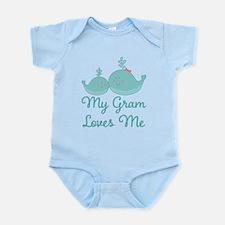 My Gram Loves Me Infant Bodysuit