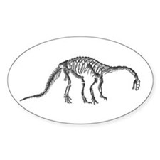 Plateosaurus Oval Decal