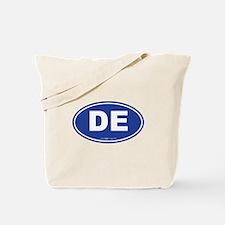 Delaware DE Euro Oval Tote Bag
