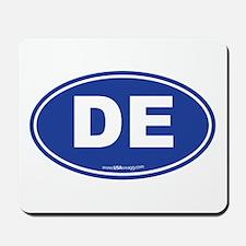 Delaware DE Euro Oval Mousepad