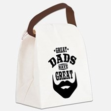 Bearded Dad Canvas Lunch Bag