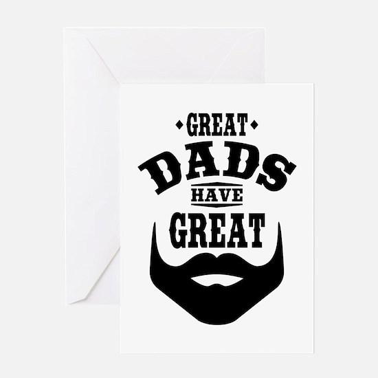Bearded Dad Greeting Card
