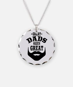 Bearded Dad Necklace