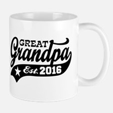Great Grandpa Est. 2016 Mug