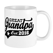 Great Grandpa Est. 2016 Small Mug