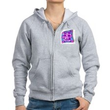QUILTING IS CHEAPER THAN THERAP Zipped Hoody