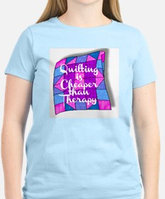 QUILTING IS CHEAPER THAN THE T-Shirt