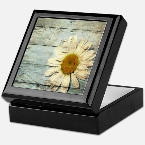 shabby chic country daisy Keepsake Box