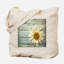 shabby chic country daisy Tote Bag