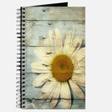 shabby chic country daisy Journal