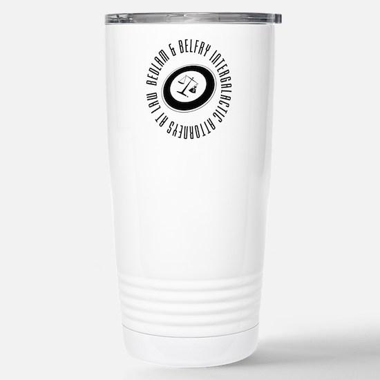 Bedlam & Belfry Intergalactic Logo Travel Mug