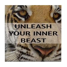 Inner Beast Tile Coaster