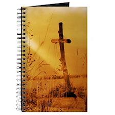 inspirational sunrays golden cross Journal