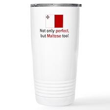 Cute Malta Travel Mug