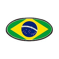 Brazil Flag Patch