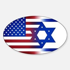 America stands with Israel Decal