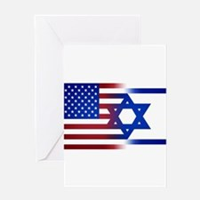 America stands with Israel Greeting Cards