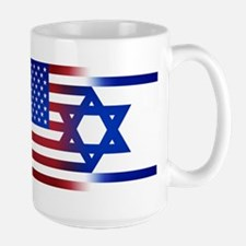 America stands with Israel Mugs
