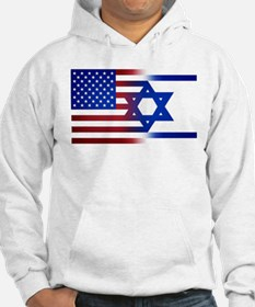America stands with Israel Hoodie