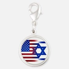 America stands with Israel Charms