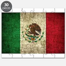 Mexico Flag Puzzle
