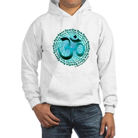Aqua Om Aum Hooded Sweatshirt