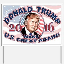 2016 Trump Usa Great Again Yard Sign