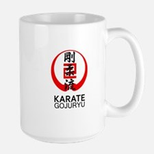 Gojuryu Karate Symbol and Kanji Mugs