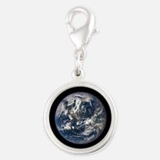 AMAZING EPIC EARTH Silver Round Charm