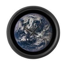 AMAZING EPIC EARTH Large Wall Clock