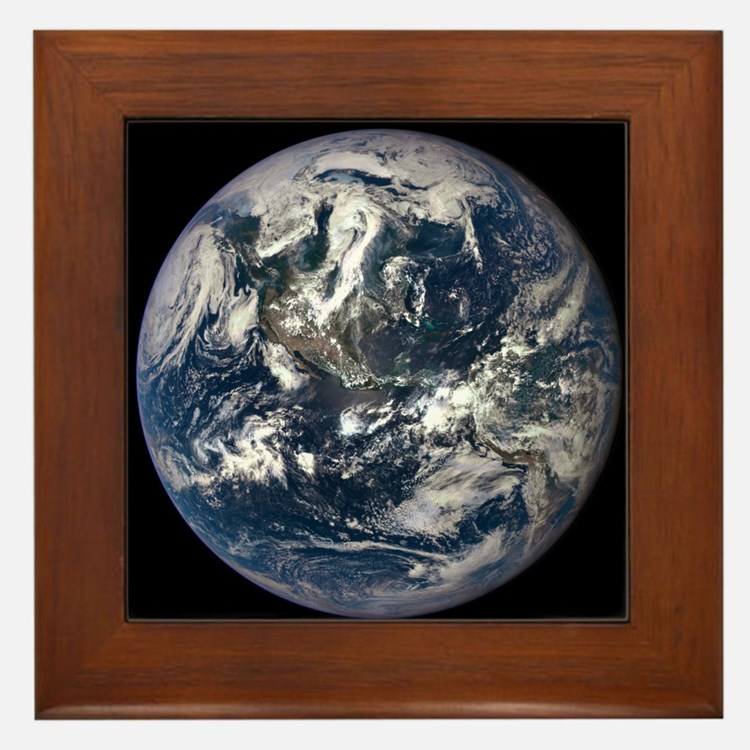 AMAZING EPIC EARTH Framed Tile
