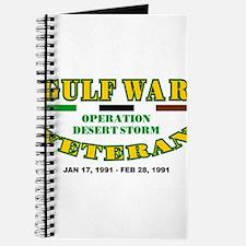 GULF WAR VETERAN OPERATION DESERT STORM Journal