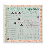 Fibonacci Drink Coasters