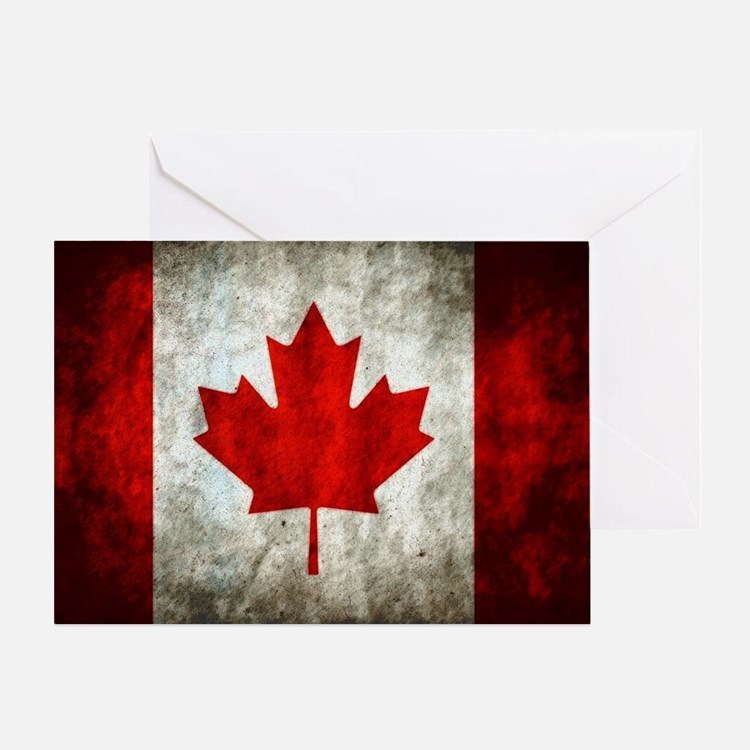 Canadian Flag Greeting Cards Card Ideas Sayings