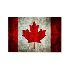 Cute Canadian Rectangle Magnet