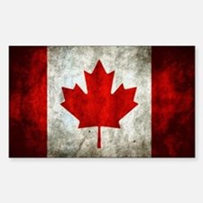 Cute Canadian flag Sticker (Rectangle)