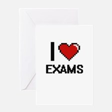 I love EXAMS Greeting Cards