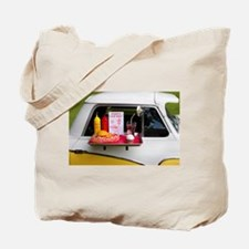 1950's Drive-in Tote Bag