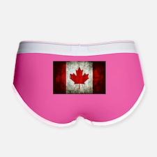 Canadian Flag Women's Boy Brief