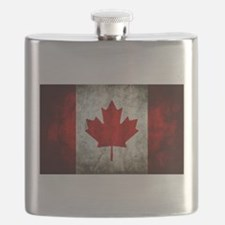 Canadian Flag Flask
