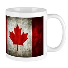Canadian Flag Mugs